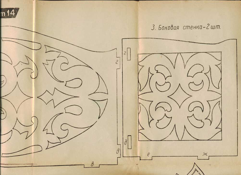 Шкатулки из фанеры лобзиком чертежи своими руками