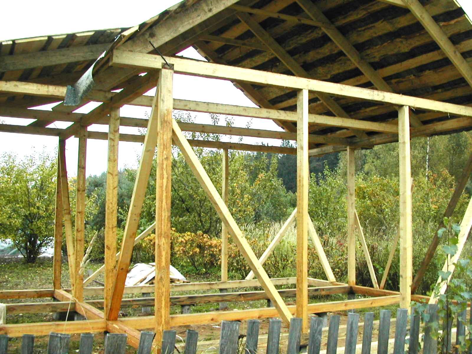 Строительство каркасного дома для дачи своими руками