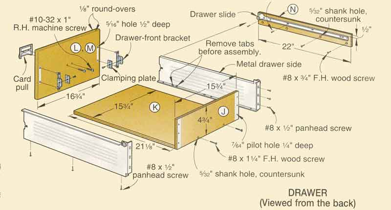 Make the fastest drawers in the west (or east)