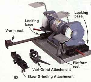 Surefire lathe tool sharpening
