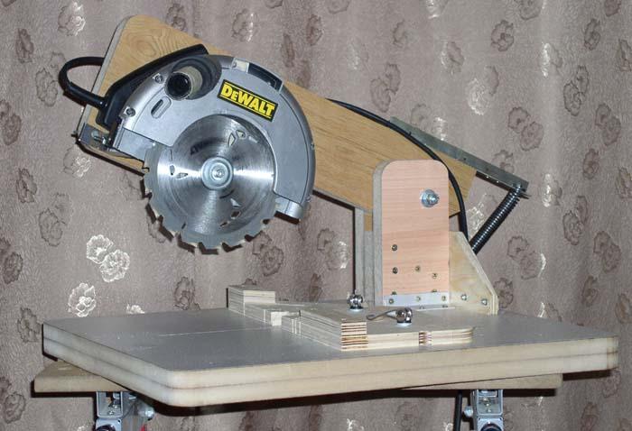 Сделать циркулярку из дисковой пилы