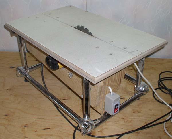 Универсальный стол для фрезера и циркулярПривод на