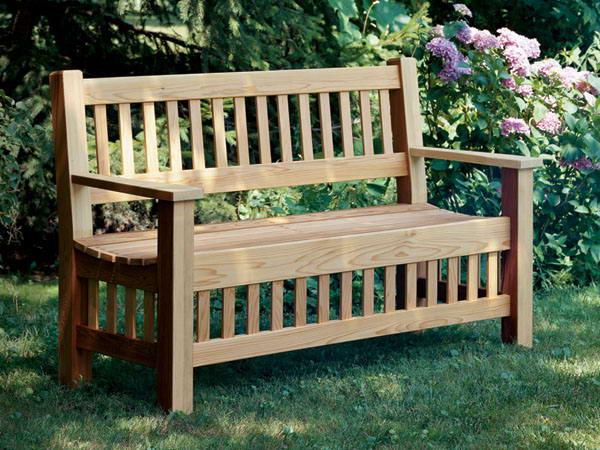 Miraculous How To Build A Classic Cedar Garden Bench Inzonedesignstudio Interior Chair Design Inzonedesignstudiocom