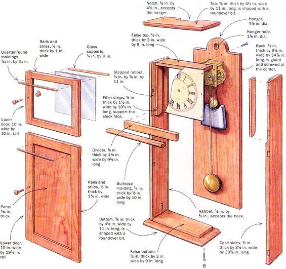 Building A Shaker Wall Clock